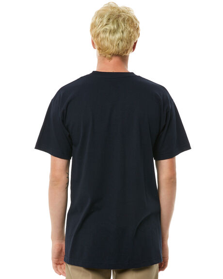 NAVY OUTLET MENS SURF IS DEAD TEES - SD17P4-03NVY