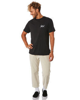 GREEN BLACK MENS CLOTHING THE CRITICAL SLIDE SOCIETY TEES - TE18155GRNBK