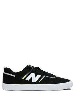 BLACK WHITE MENS FOOTWEAR NEW BALANCE SNEAKERS - NM306BLLBLKW