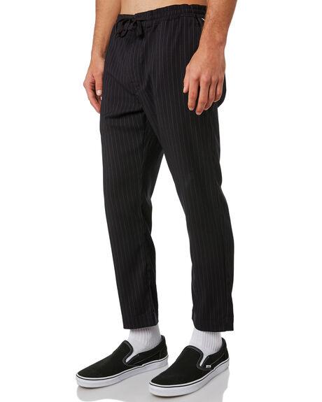 BLACK PINSTRIPE MENS CLOTHING THE CRITICAL SLIDE SOCIETY PANTS - PT1816BLKPI