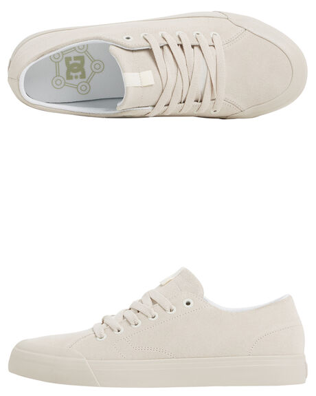 CREAM MENS FOOTWEAR DC SHOES SNEAKERS - ADYS300487-CRE