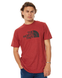 CARDINAL RED MENS CLOTHING THE NORTH FACE TEES - NF00CH2TRRS