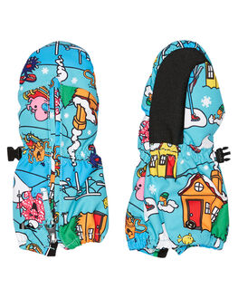 MR MEN FUN TIMES BOARDSPORTS SNOW QUIKSILVER GLOVES - EQKHN03003WBK6