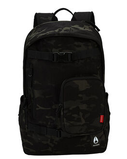 BLACK MULTICAM MENS ACCESSORIES NIXON BAGS + BACKPACKS - C29553015