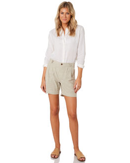 CHAMBRAY SHALE WOMENS CLOTHING PATAGONIA SHORTS - 54342CHSA