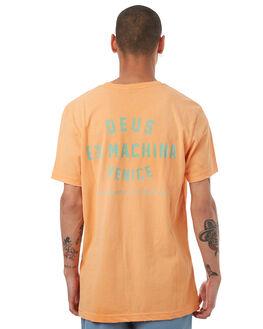 FADED ORANGE MENS CLOTHING DEUS EX MACHINA TEES - DMF71462CFORNG