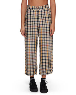 OATMEAL WOMENS CLOTHING RVCA PANTS - RV-R207273-O10