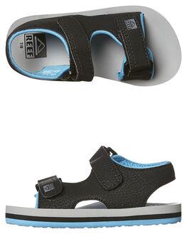 GREY BLUE KIDS TODDLER BOYS REEF FOOTWEAR - 5096GBL