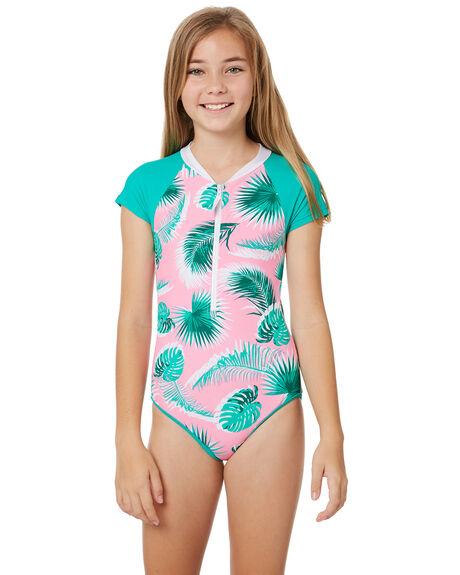 e3ed751fbfb26 Platypus Australia Girls Cap Sleeve One Piece - Teens - Botanica ...