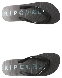 BLACK GRADIENT MENS FOOTWEAR RIP CURL THONGS - TCTA284079