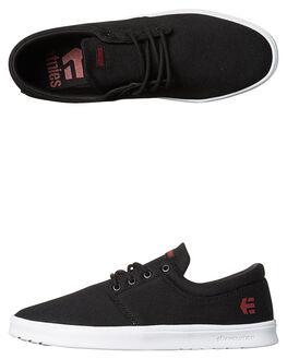 BLACK MENS FOOTWEAR ETNIES SNEAKERS - 4101000464001