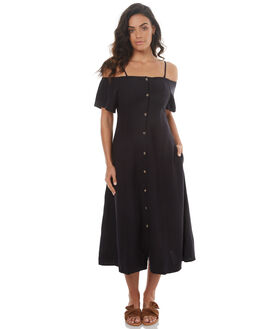 BLACK WOMENS CLOTHING ROLLAS DRESSES - 12343BLK