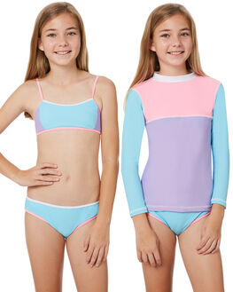 SHERBET BLOCK KIDS GIRLS PLATYPUS AUSTRALIA SWIMWEAR - PK44GS-18SHB