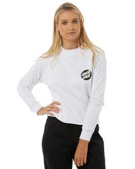WHITE WOMENS CLOTHING SANTA CRUZ JUMPERS - SC-WFA8518BLK