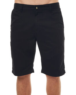 BLACK MENS CLOTHING VOLCOM SHORTS - A09313S0BLK