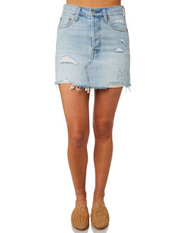 WHATS THE DAMAGE WOMENS CLOTHING LEVI'S SKIRTS - 34963-0021WTDAM