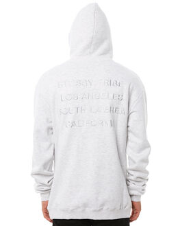 WHITE MARLE MENS CLOTHING STUSSY JUMPERS - ST081202WMRL