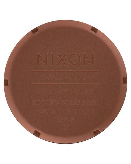COPPER GUNMETAL MENS ACCESSORIES NIXON WATCHES - A356-3165