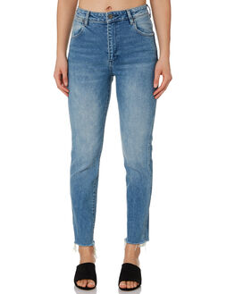 TURN BACK TIME WOMENS CLOTHING WRANGLER JEANS - W-951407-LB2