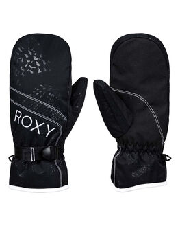 TRUE BLACK BOARDSPORTS SNOW ROXY GLOVES - ERJHN03136-KVJ0