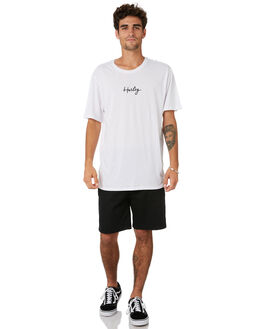 WHITE MENS CLOTHING HURLEY TEES - MTSPRIPG100