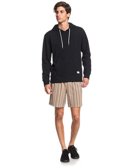 BLACK MENS CLOTHING QUIKSILVER JUMPERS - EQYFT04081-KVJ0