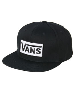 BLACK MENS ACCESSORIES VANS HEADWEAR - VN0A45FIBLK
