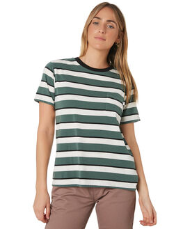 EMERALD WOMENS CLOTHING BRIXTON TEES - 02721-EMRLD