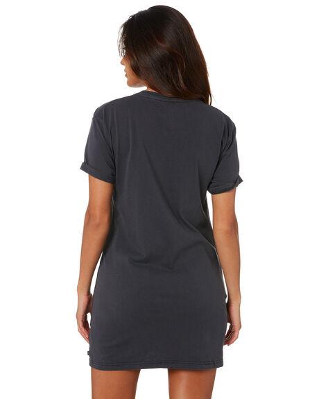 BLACK WOMENS CLOTHING RUSTY DRESSES - DRL1073BLK