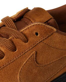 LT BRITISH TAN MENS FOOTWEAR NIKE SKATE SHOES - 864347-200