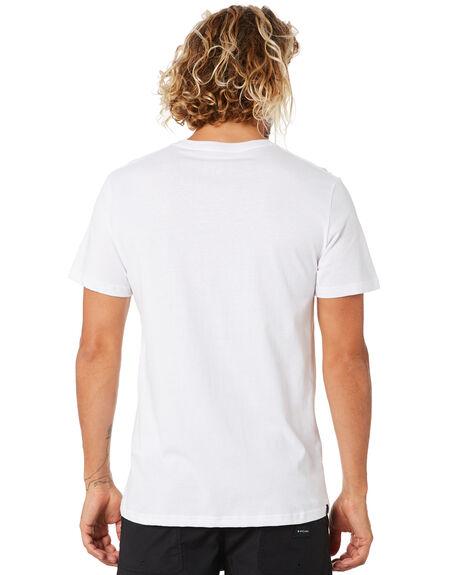 WHITE MENS CLOTHING RIP CURL TEES - CTEOS91000