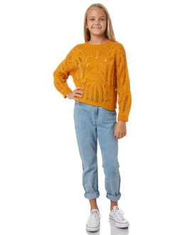 SUNFLOWER KIDS GIRLS EVES SISTER JUMPERS + JACKETS - 9550053YLW