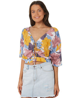 MULTI OUTLET WOMENS RUSTY FASHION TOPS - WSL0587-MTI