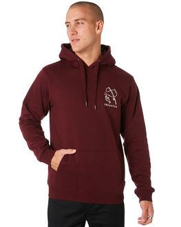 BURGUNDY MENS CLOTHING DEPACTUS JUMPERS - D5194445BUNDY