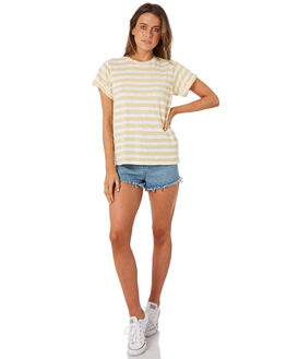 MUSTARD WOMENS CLOTHING SWELL TEES - S8184002MSTRD