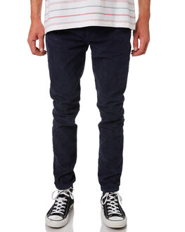 BLUE CORD MENS CLOTHING ROLLAS JEANS - 15279E3836