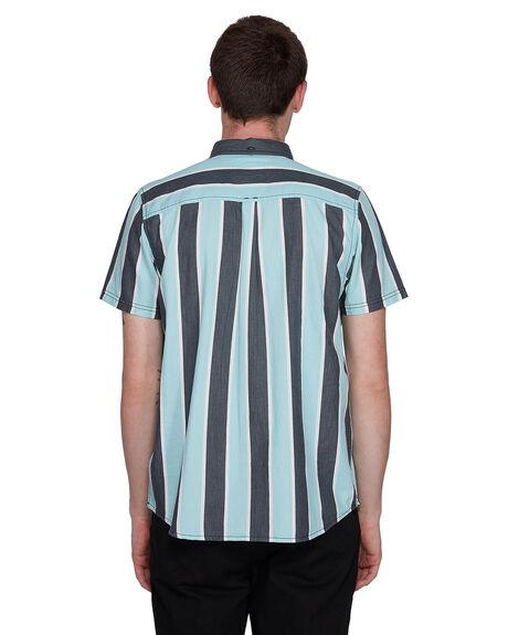 GREY STRIPE MENS CLOTHING ELEMENT SHIRTS - EL-107214-GST