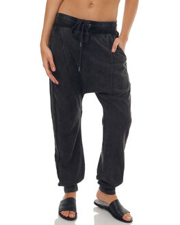 WASHED BLACK WOMENS CLOTHING O'NEILL PANTS - 402310642P