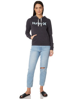 OIL GREY WOMENS CLOTHING HURLEY JUMPERS - ARAW0001013