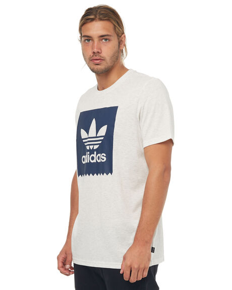 PALE MELANGE MENS CLOTHING ADIDAS ORIGINALS TEES - CW2340PMLNG