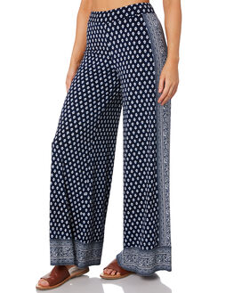 NAVY WOMENS CLOTHING TIGERLILY PANTS - T392371NAVY
