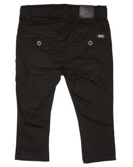 BLACK KIDS BOYS ALPHABET SOUP PANTS - AS-KPA8370BLK