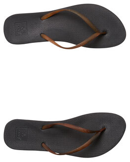 BLACK TORTOISE WOMENS FOOTWEAR REEF THONGS - A361RKTT