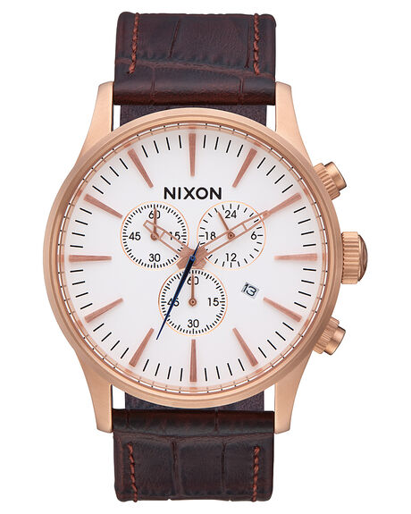 ROSE GOLD  BRN MENS ACCESSORIES NIXON WATCHES - A4052459