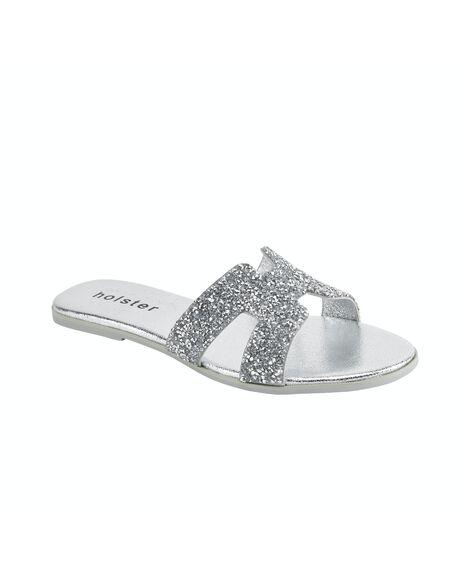 SILVER WOMENS FOOTWEAR HOLSTER FASHION SANDALS - HST371SI5