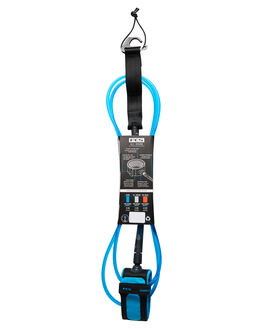 BLUE BLACK BOARDSPORTS SURF FCS LEASHES - EARA-BUB-07FBLUBK