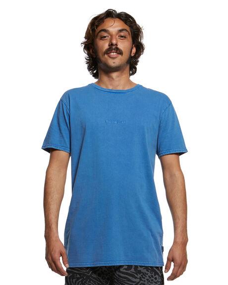 ELECTRIC ROYAL MENS CLOTHING QUIKSILVER TEES - EQYKT03902-PRM0