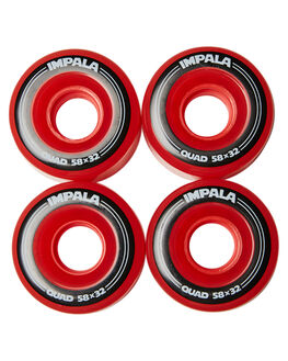RED BOARDSPORTS SKATE IMPALA ACCESSORIES - IMPRWHEELRED