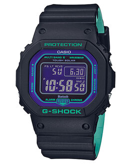 BLACK PURPLE MENS ACCESSORIES G SHOCK WATCHES - GWB5600BL-1DBLKPU