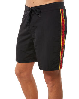 BLACK MENS CLOTHING NO NEWS BOARDSHORTS - N5182233BLACK